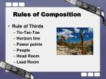rules of composition1