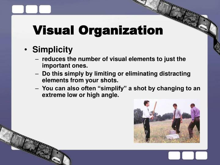 Visual Organization