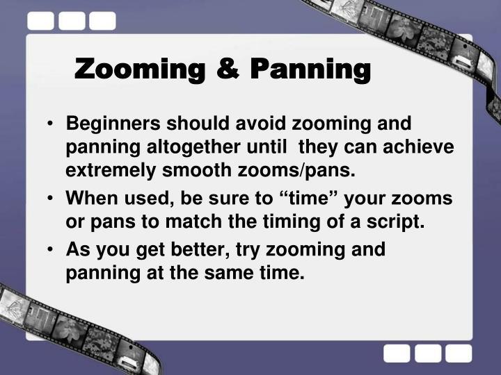 Zooming & Panning