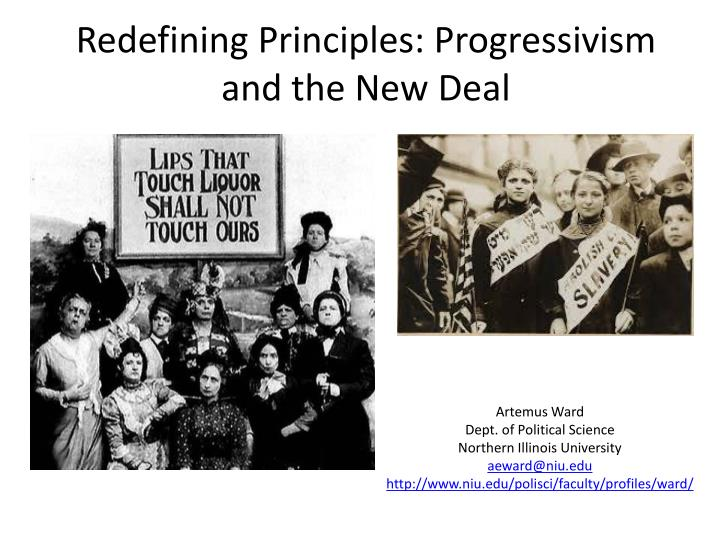progressivism and the new deal In the progressive and new deal eras, government intervened heavily in the economy video created with the bill of rights institute to help students ace thei.