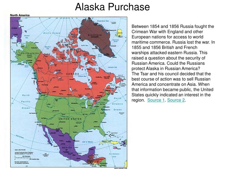 the purchase of alaska When russia's provocative nationalist vladimir zhirinovsky announced last year [1993] that he wanted alaska back, it inspired cartoonist jim borgman of the cincinnati inquirer to depict a worried president clinton asking the national archives to find the receipt for the purchase of alaska the .