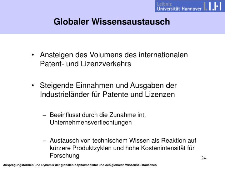 Globaler Wissensaustausch