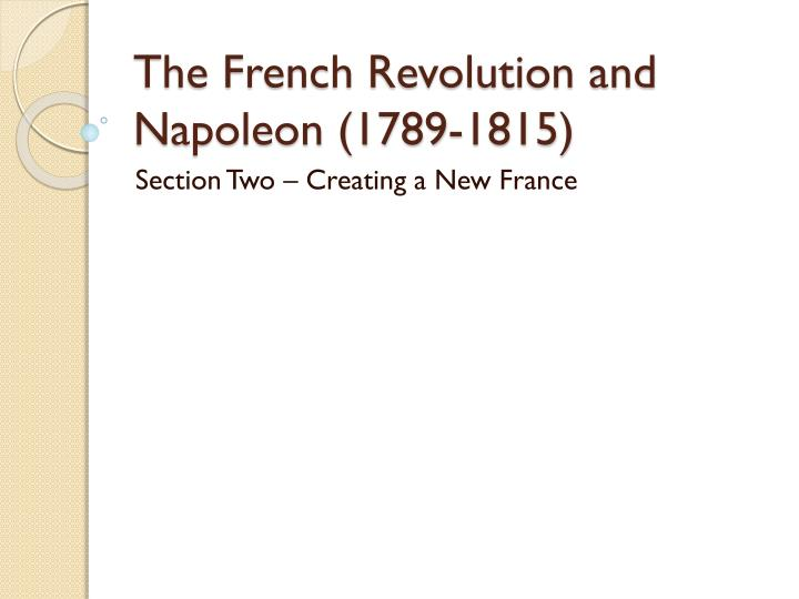 thematic essay on the french revolution French revolution essay outline historical context: the french revolution (1789-1814), which included napoleon's reign, is considered a major turning point in.