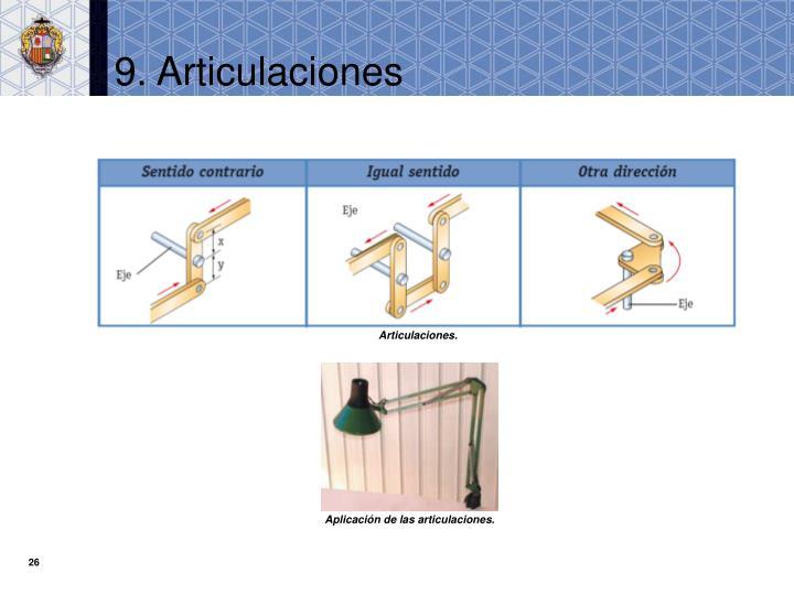 9. Articulaciones