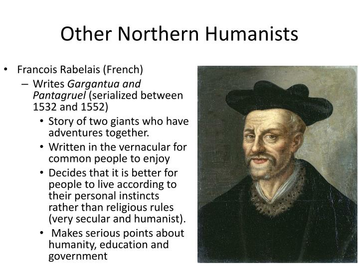 Other Northern Humanists