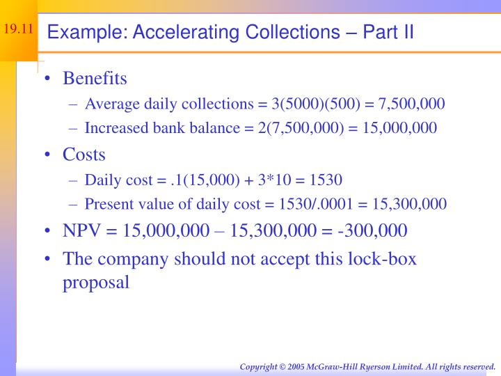 Example: Accelerating Collections – Part II