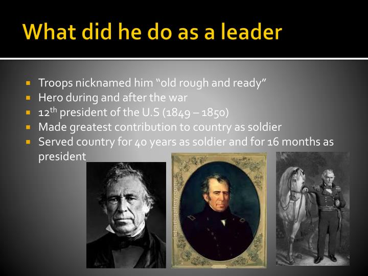 What did he do as a leader