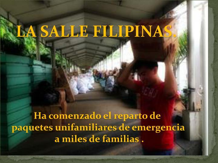 LA SALLE FILIPINAS.