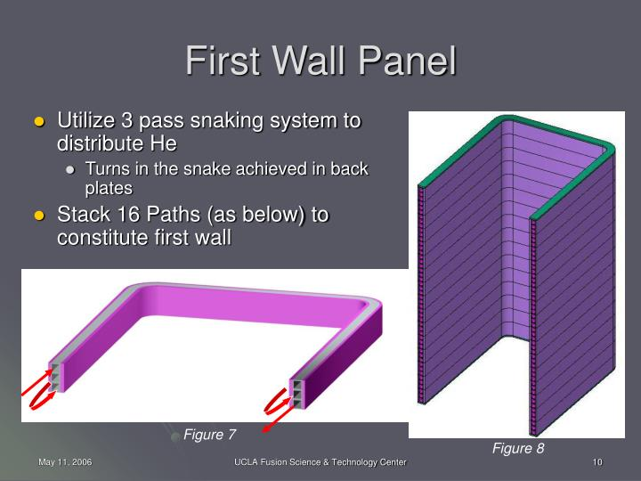 First Wall Panel