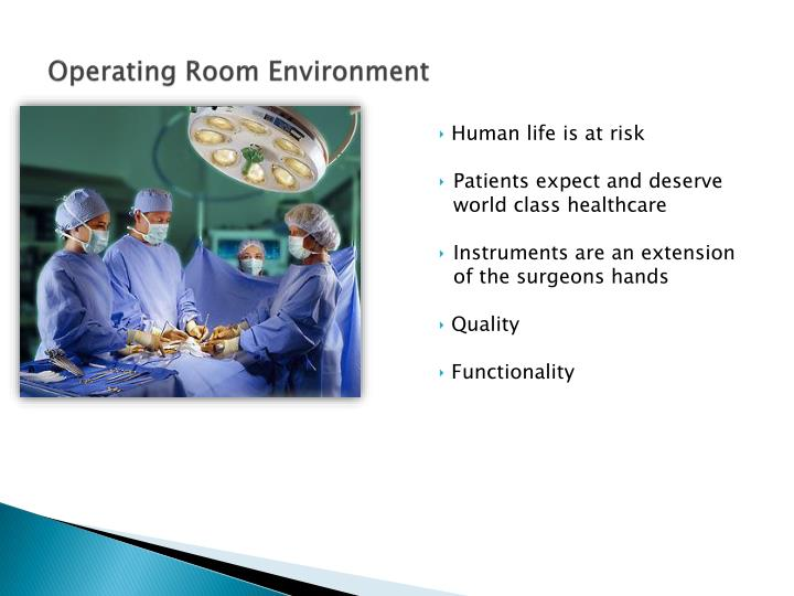 Operating Room Environment