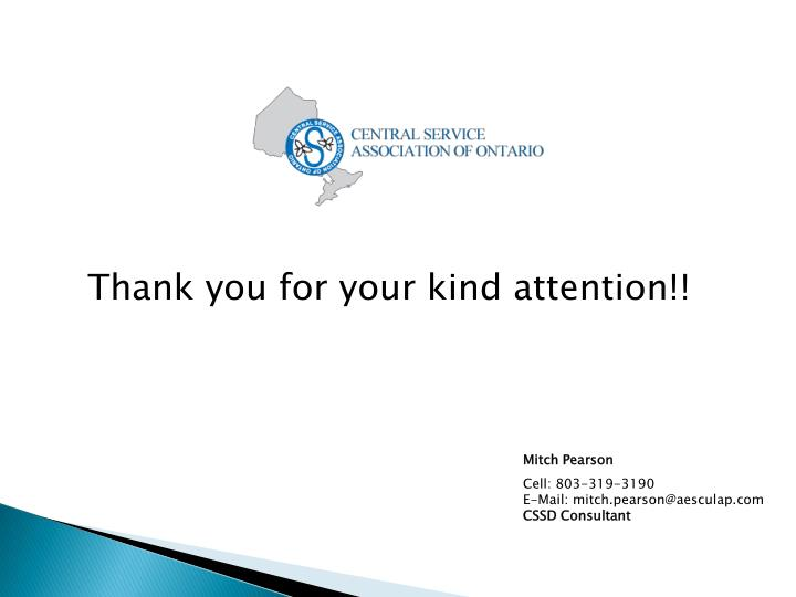 Thank you for your kind attention!!