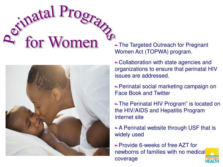 Perinatal Programs
