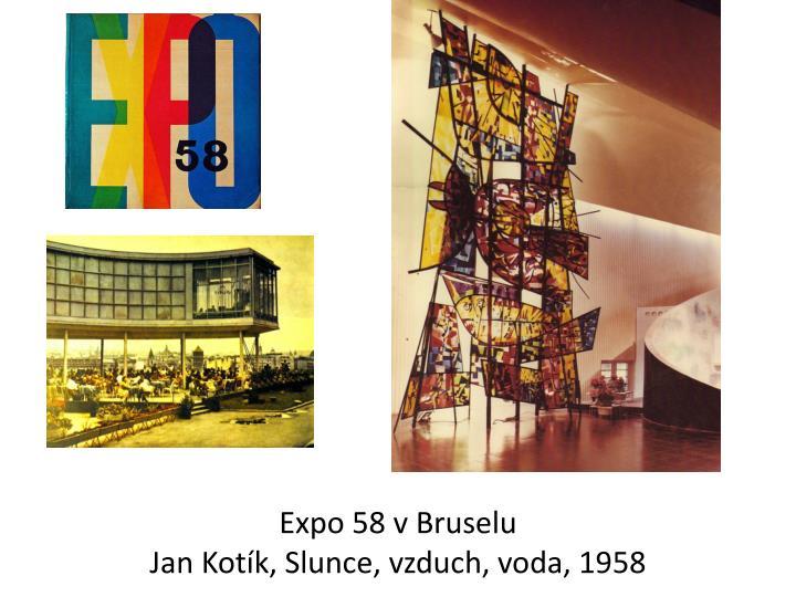 Expo 58 v Bruselu