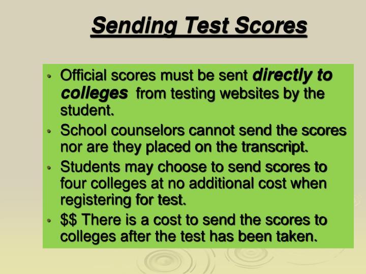 Sending Test