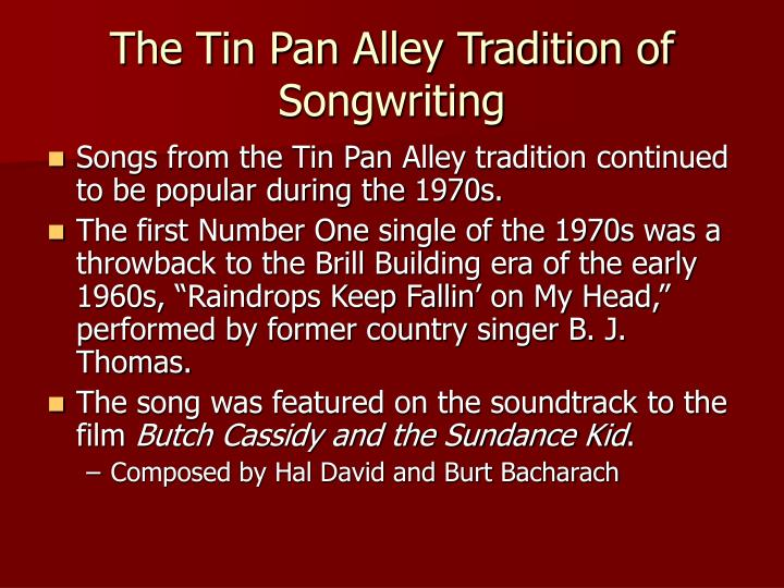 the simularities from the swing era to tin pan alley Start studying muh test 5 learn vocabulary,  the swing era began to decline after  what thirty year period is considered the golden years of tin pan alley.