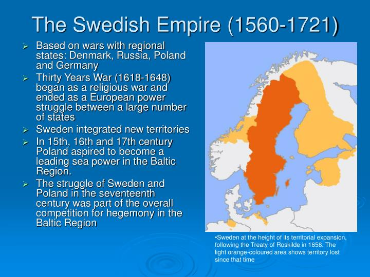 The Swedish Empire (1560-1721)