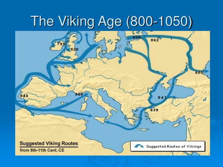 The Viking Age (800-1050)
