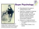 buyer psychology