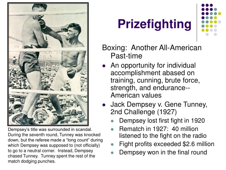 Prizefighting