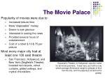 the movie palace