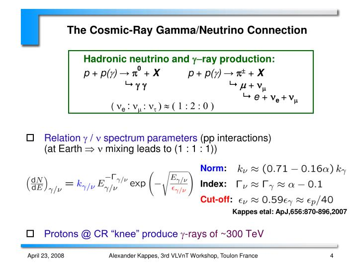 Hadronic neutrino and