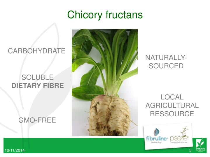 Chicory fructans