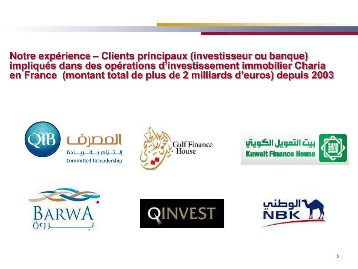 Ppt financement islamique d investissements immobiliers en france powerpoin - Credit islamique en france ...