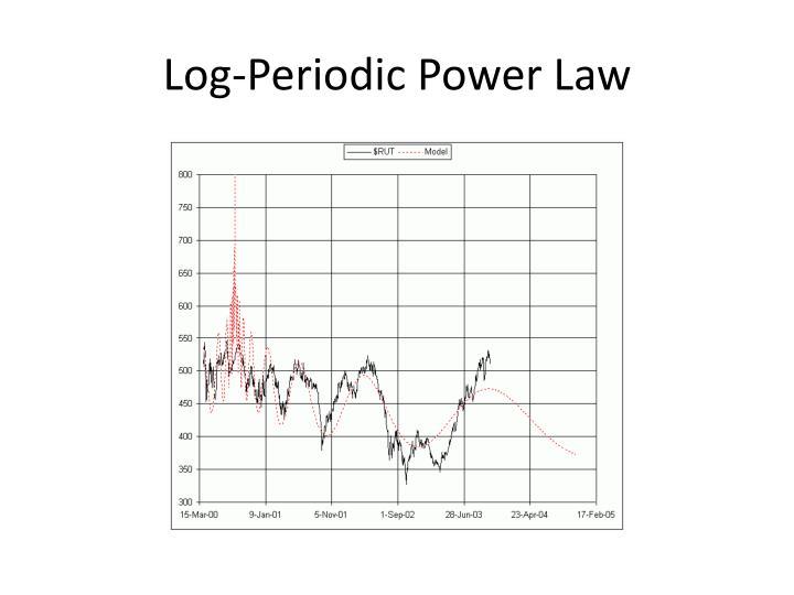 Log-Periodic Power Law