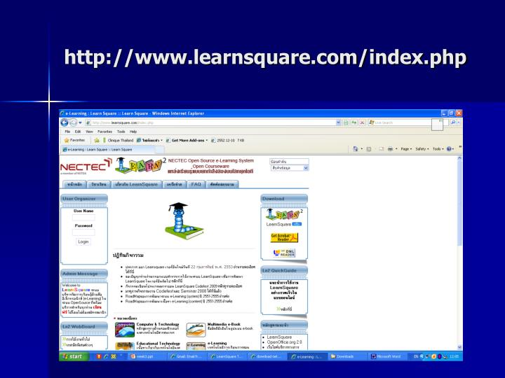 http://www.learnsquare.com/index.php