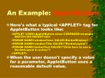an example appletbutton1