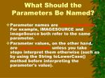 what should the parameters be named1