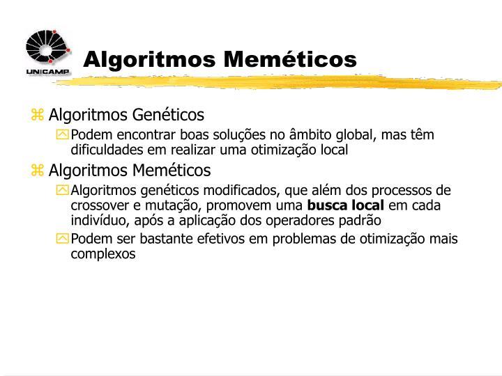 Algoritmos Meméticos