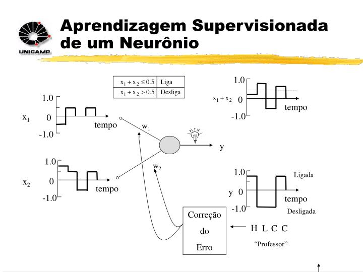 Aprendizagem Supervisionada de um Neurônio