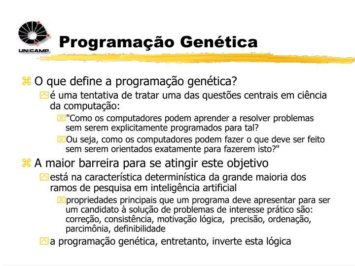 Programação Genética