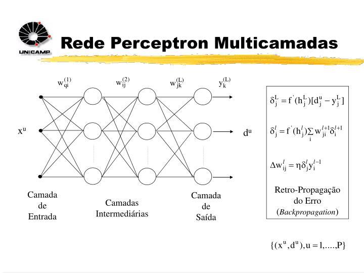 Rede Perceptron Multicamadas