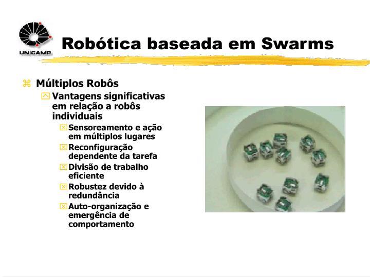 Robótica baseada em Swarms
