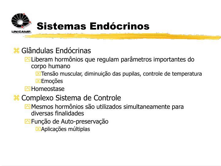 Sistemas Endócrinos