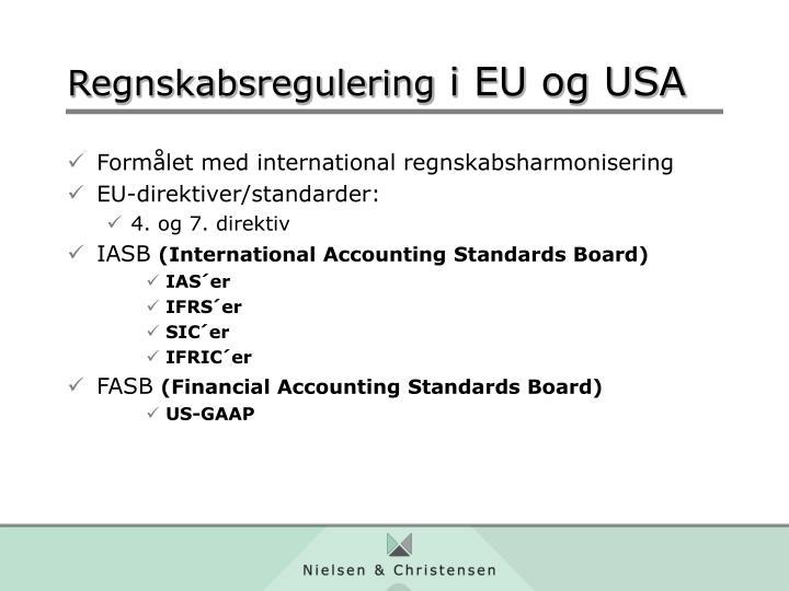 Formålet med international regnskabsharmonisering
