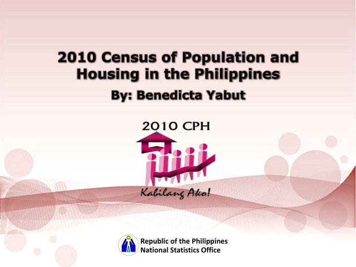 2010 Census of Population and Housing in the Philippines