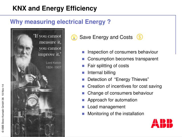 Save Energy and Costs