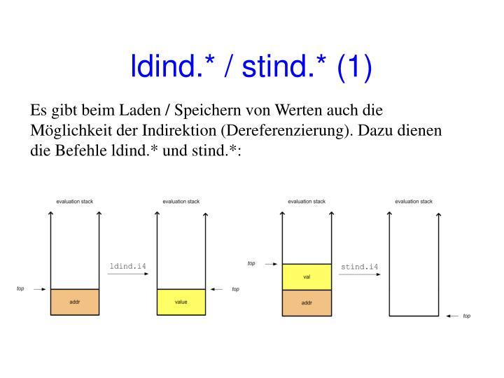 ldind.* / stind.* (1)