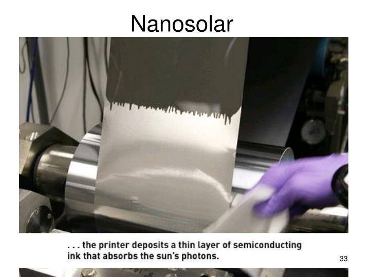Nanosolar