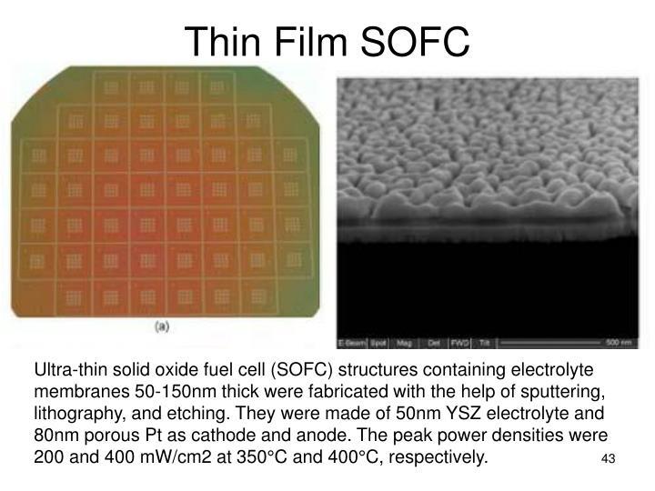 Thin Film SOFC