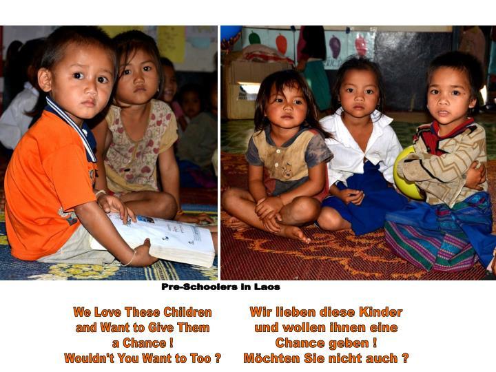 Pre-Schoolers in Laos