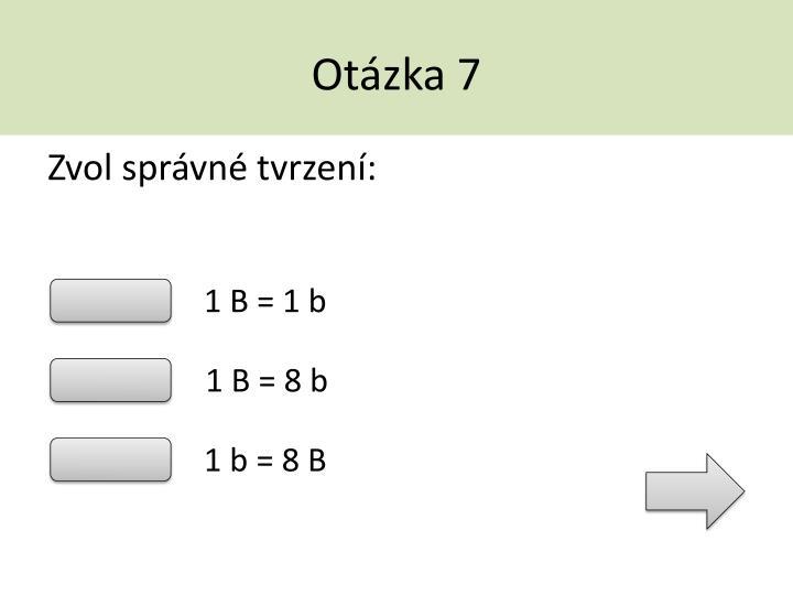 Otázka 7