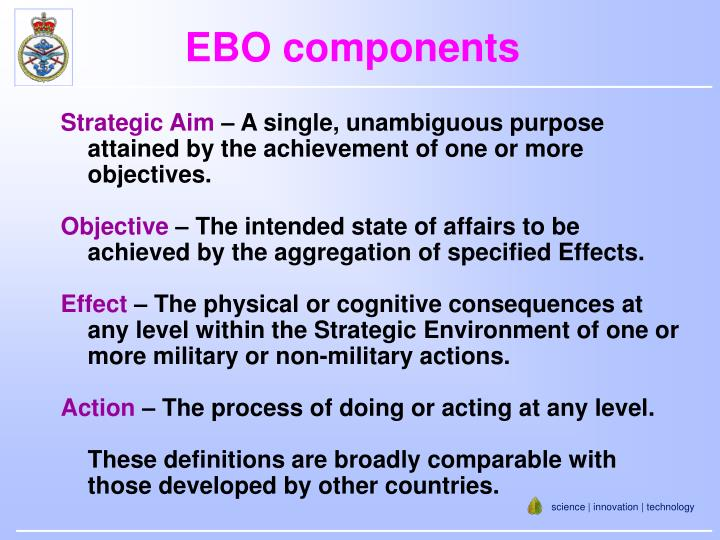 EBO components