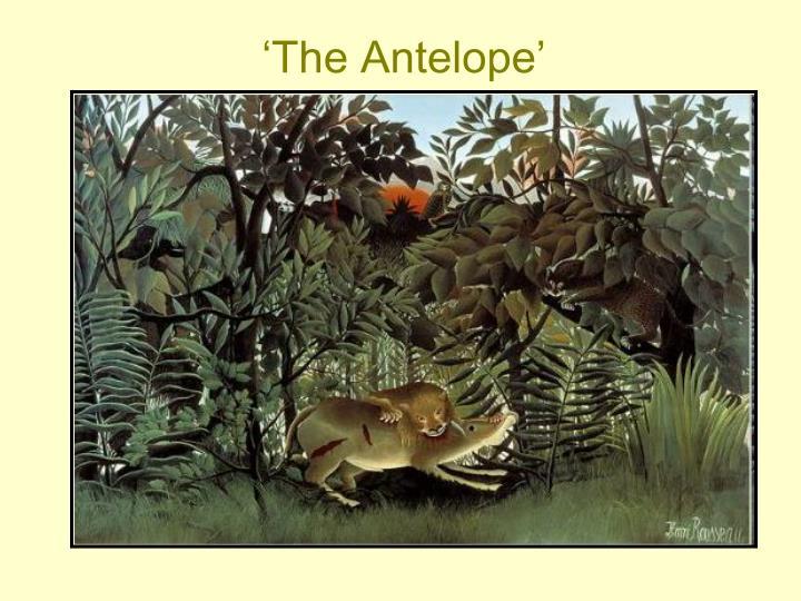 'The Antelope'