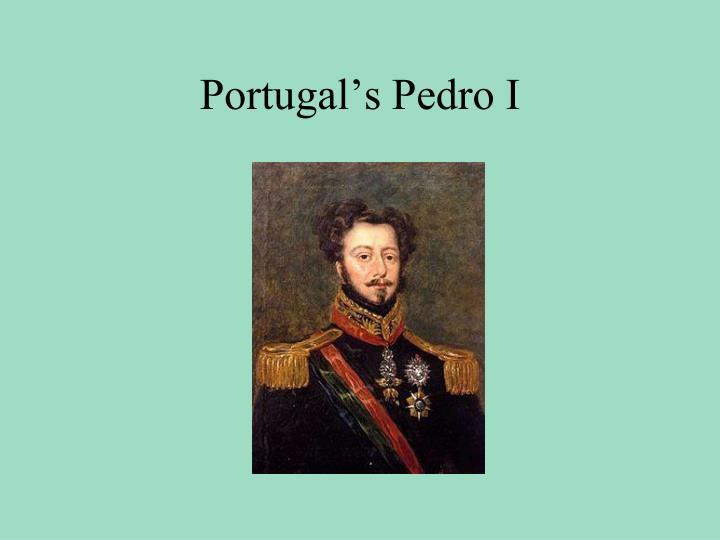 Portugal's Pedro I