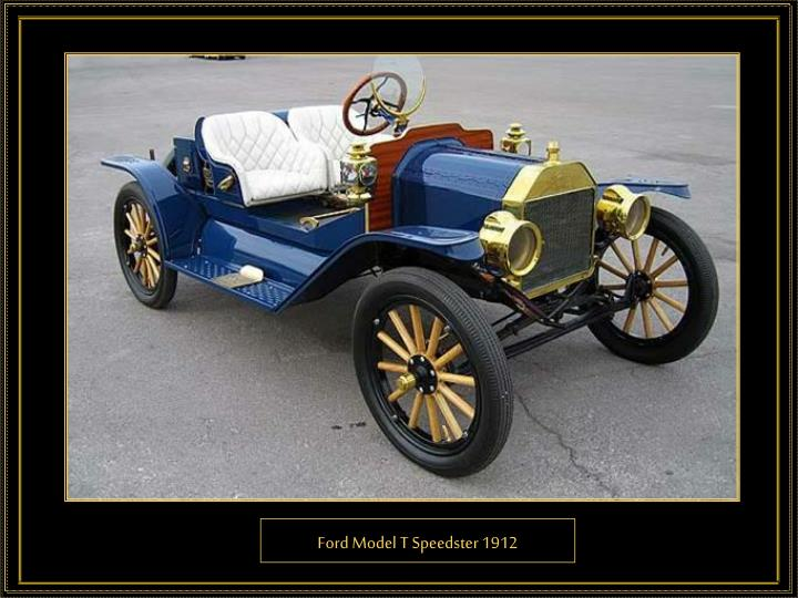 Ford Model T Speedster 1912