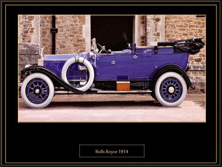 Rolls Royce 1914